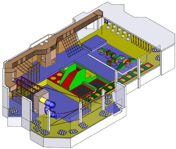 Objektplan Kinderbewegungszentrum